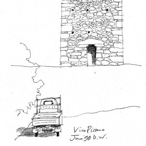 Ape and Tower, Vicopisano